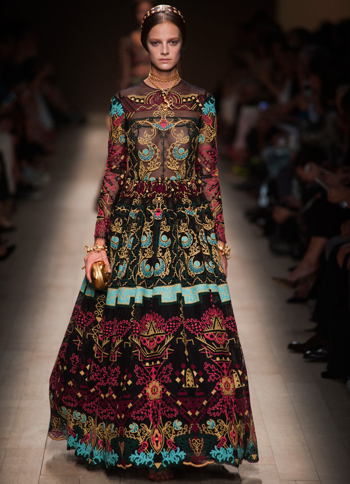 платье valentino коллекция pret-a-porter за 611 280 руб