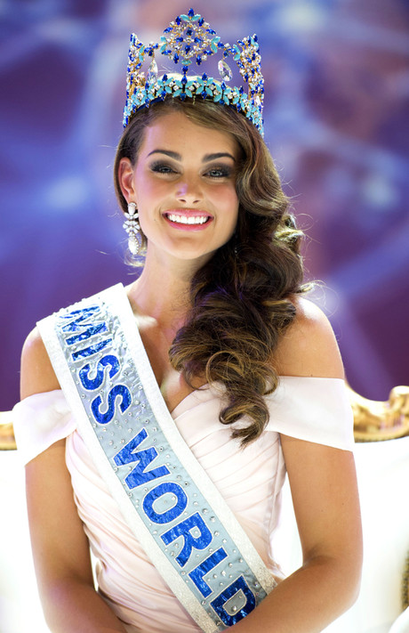 Мисс Мира Ролин Стросс: фото
