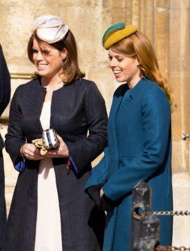 Принцессы Беатрис и Евгения