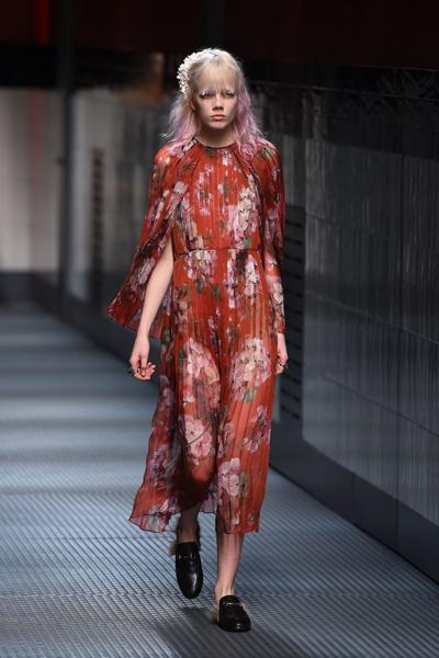 Показ Gucci на Неделе моды в Милане | галерея [1] фото [14]