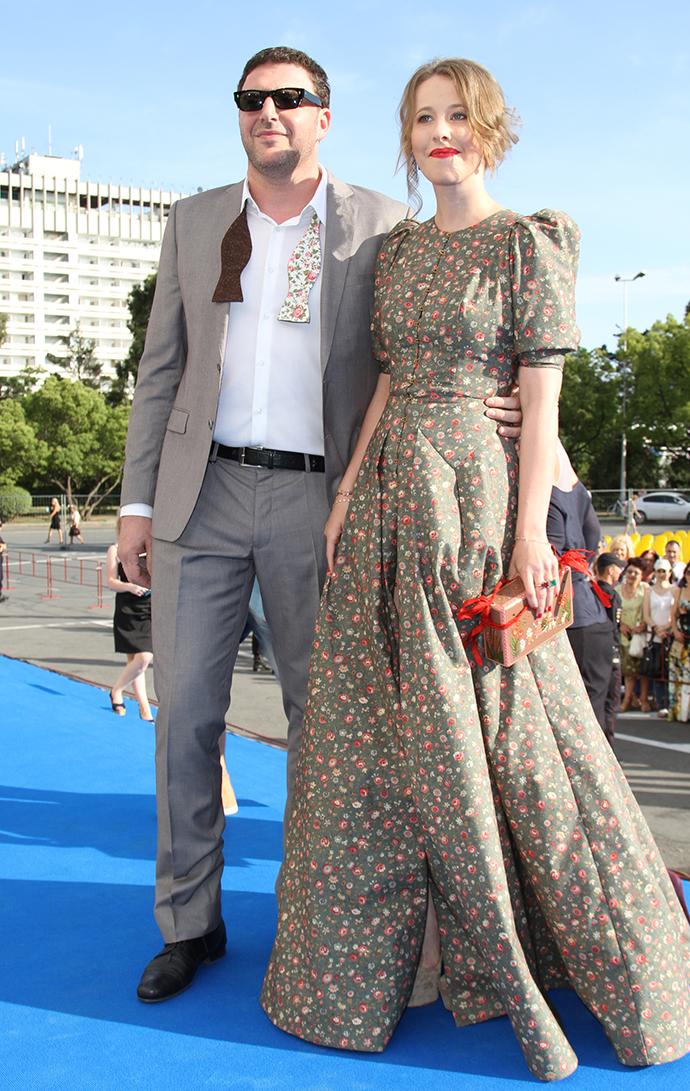 С супругом Максимом Виторганом