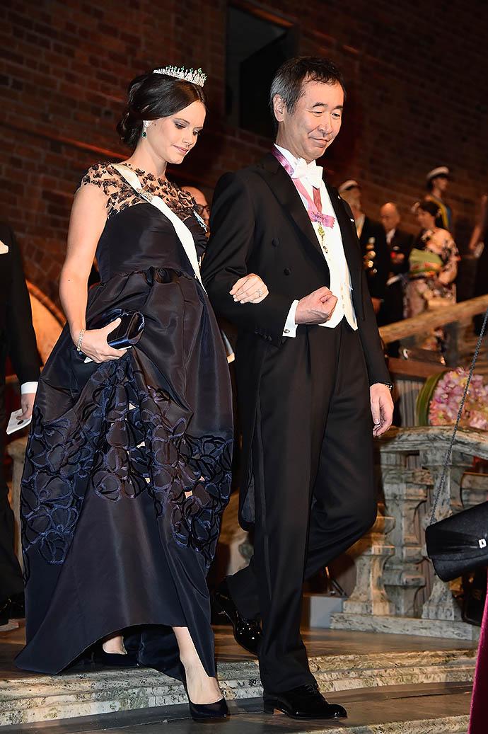 Принцесса София и лауреат Нобелевской премии по физике 2015 Такааки Кадзита (Япония)