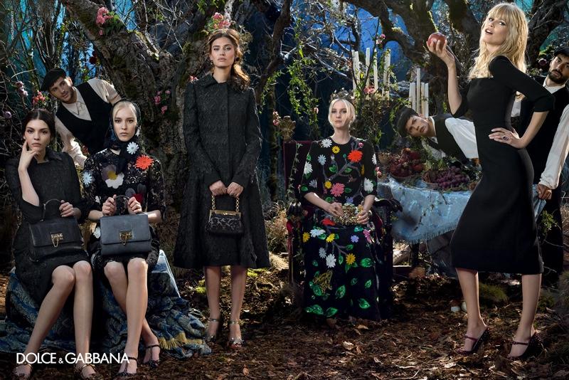 Новая коллекция Dolce & Gabbana осень-зима 2014-15