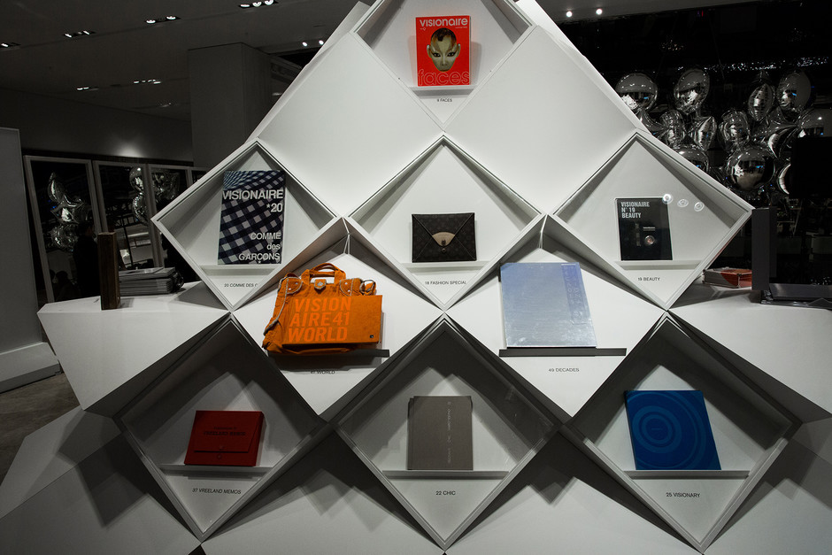 В Универмаге «Цветной» прошло открытие выставки Visionaire