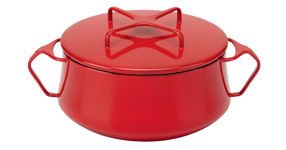 Кастрюля Kobenstyle с крышкой-подставкой, Dansk, www. dansk. com, магазин Crate and Barrel.