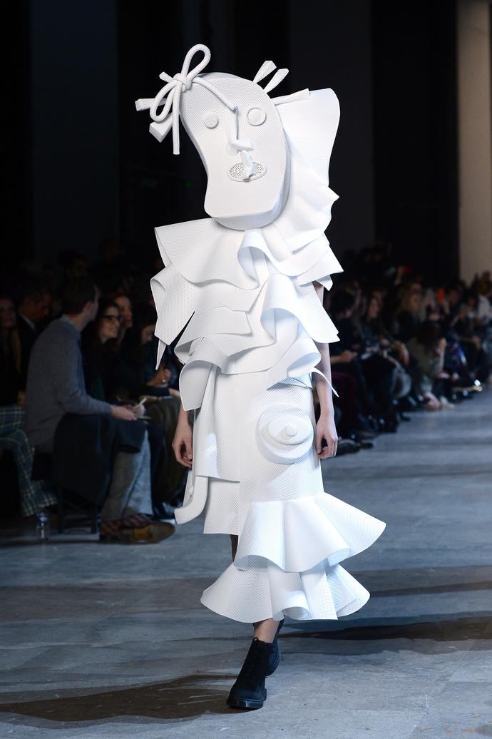 Дети Пикассо: показ Viktor&Rolf на Неделе Высокой Моды в Париже