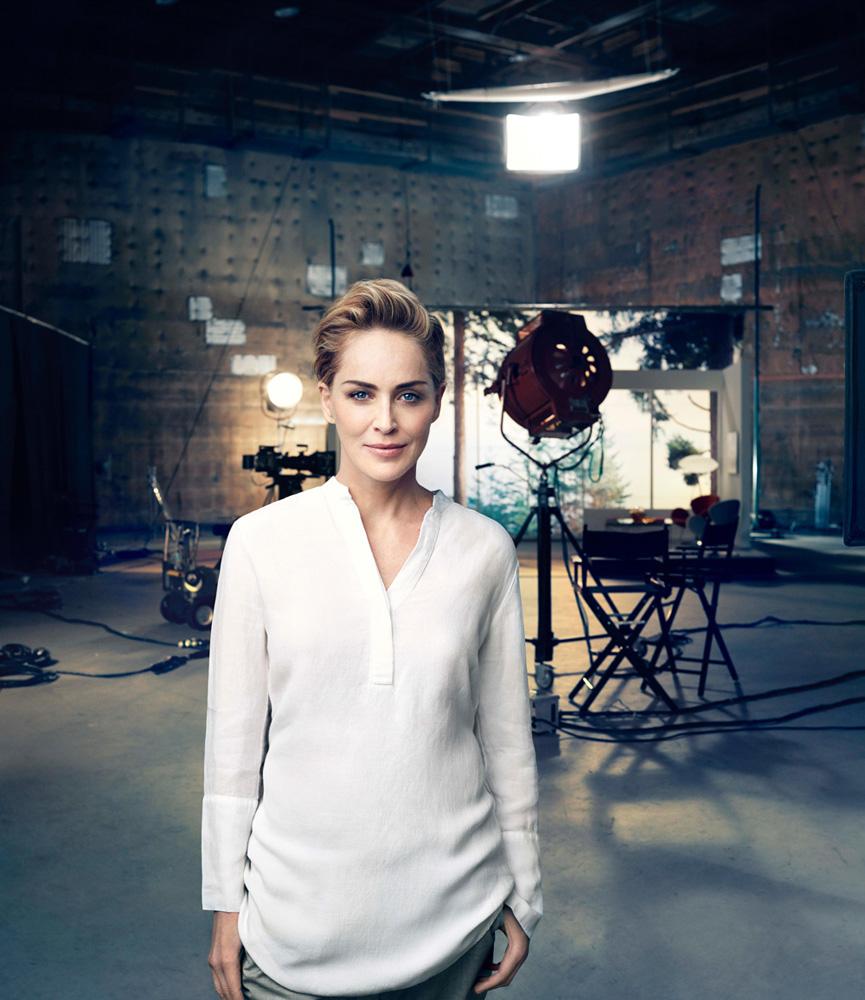 Шерон Стоун в рекламе