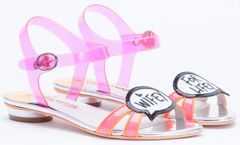 София Вебстер представила дебютную коллекцию свадебной обуви | галерея [2] фото [3]
