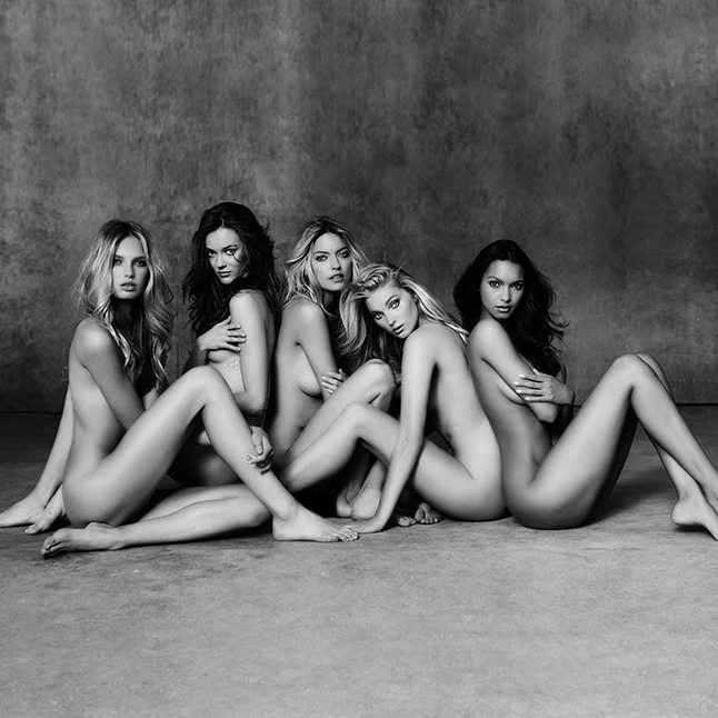 Голые модели Victoria's Secret: фото