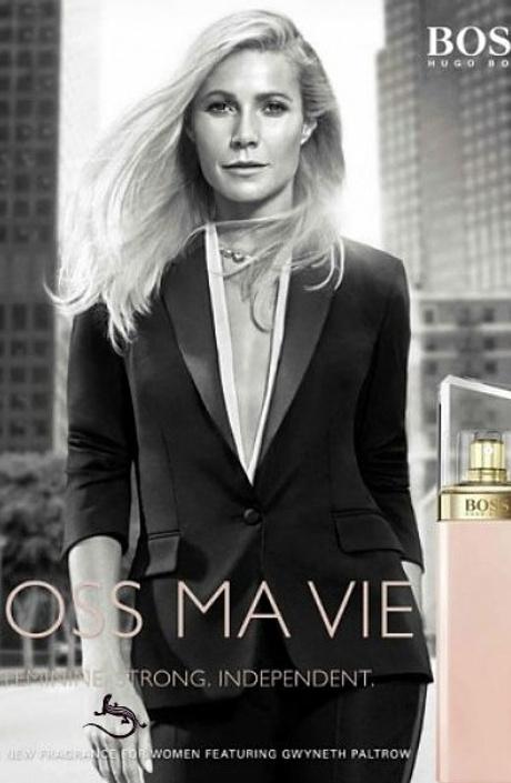 Гвинет Пэлтроу снялась в новой рекламе аромата Hugo Boss