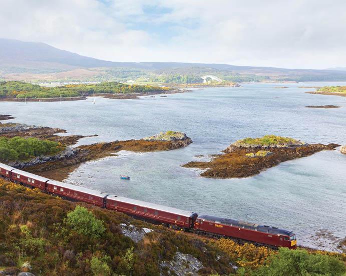 Поезд The Royal Scotsman