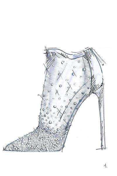 Известные дизайнеры обуви представили свои версии туфель Золушки | галерея [1] фото [1]