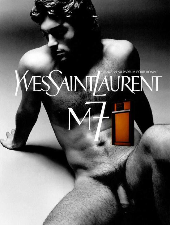 Сэмюэль де Каббер в рекламной кампании аромата M7, Yves Saint Laurent