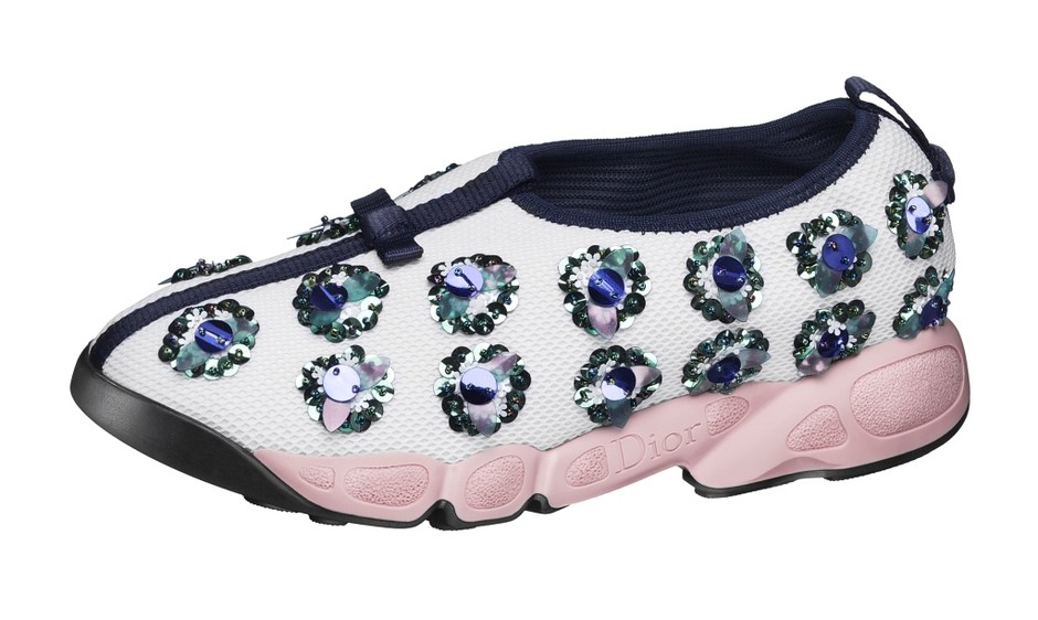 Elle Obsession: кроссовки Dior Fusion Sneakers