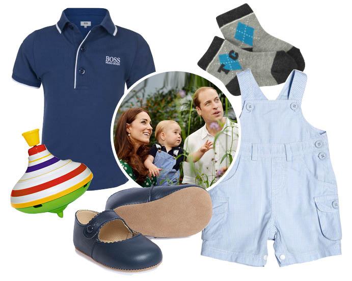 5 нарядов для маленького принца Георга фото 3