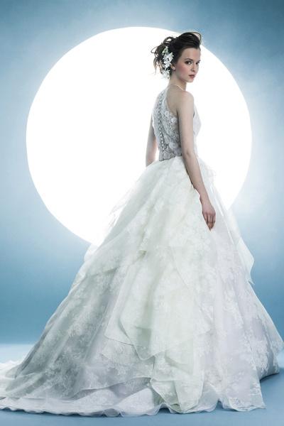 60 пышных свадебных платьев 2015 | галерея [1] фото [55]