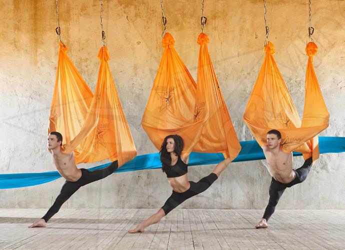 AntiGravity Yoga — новый путь к пробуждению
