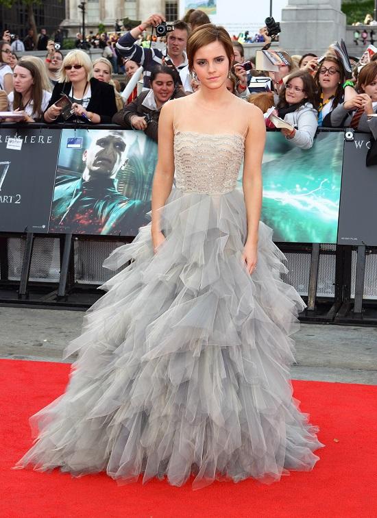Oscar de la Renta на мировой премьере фильма «Гарри Поттер и дары смерти: часть 2» в Лондоне, 2011