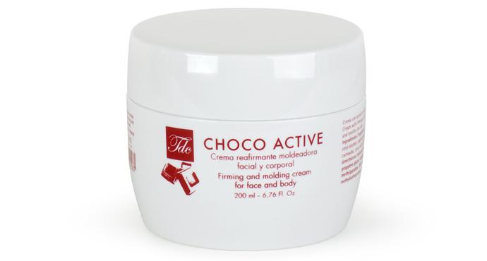 Укрепляющий и моделирующий шоколадный крем для тела Choco Active от Tegor