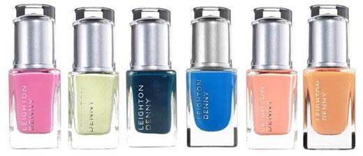 Лаки для ногтей Leighton Denny из коллекции Riviera
