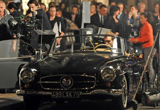 На фото: Джуд Лоу на съемках рекламы Dior