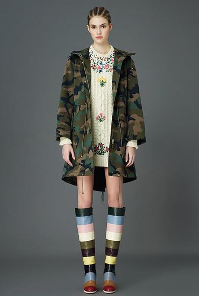 Главные тренды pre-fall коллекции Valentino | галерея [5] фото [3]
