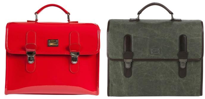 Сумки Dolce & Gabbana в стиле классического портфеля ретро