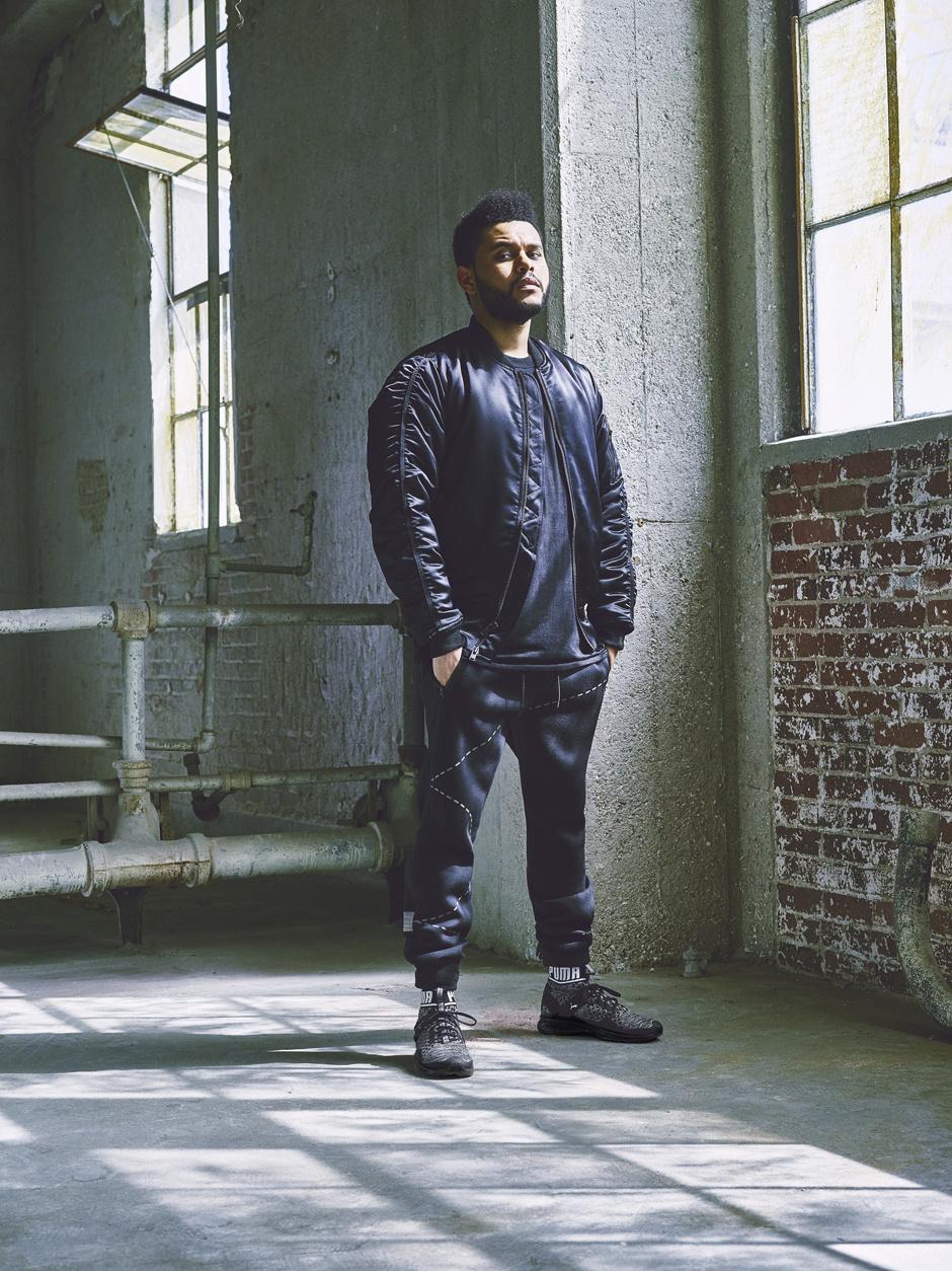 The Weeknd стал новым послом Puma