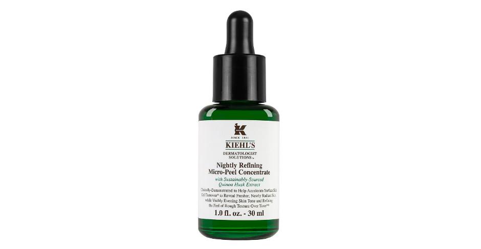 Ночной микропилинг Nightly Refining Micro-Peel Concentrate от Kiehl's, ускоряющий обновление кожи