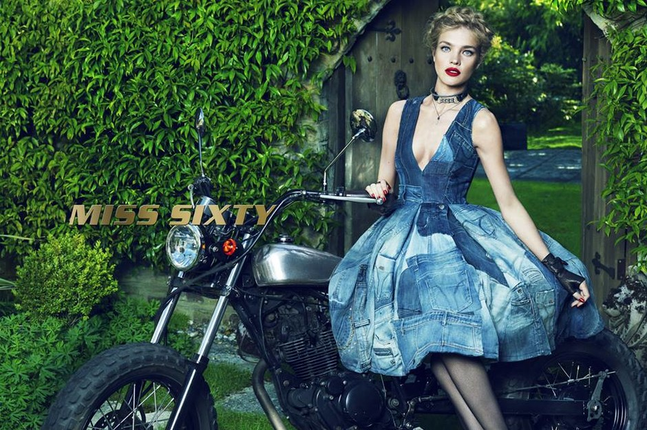 Наталья Водянова в рекламе Miss Sixty