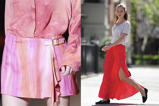 Показ Versace; Кэндис Свэйнпол