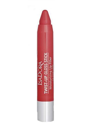 бальзам для губ Twist-up gloss stick, Isadora, оттенок 04 Pink Lady