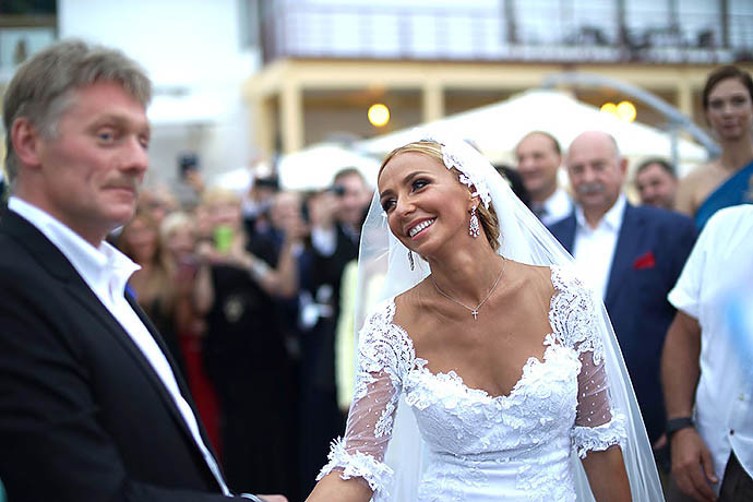 Свадьба Дмитрия Пескова и Татьяны Навки