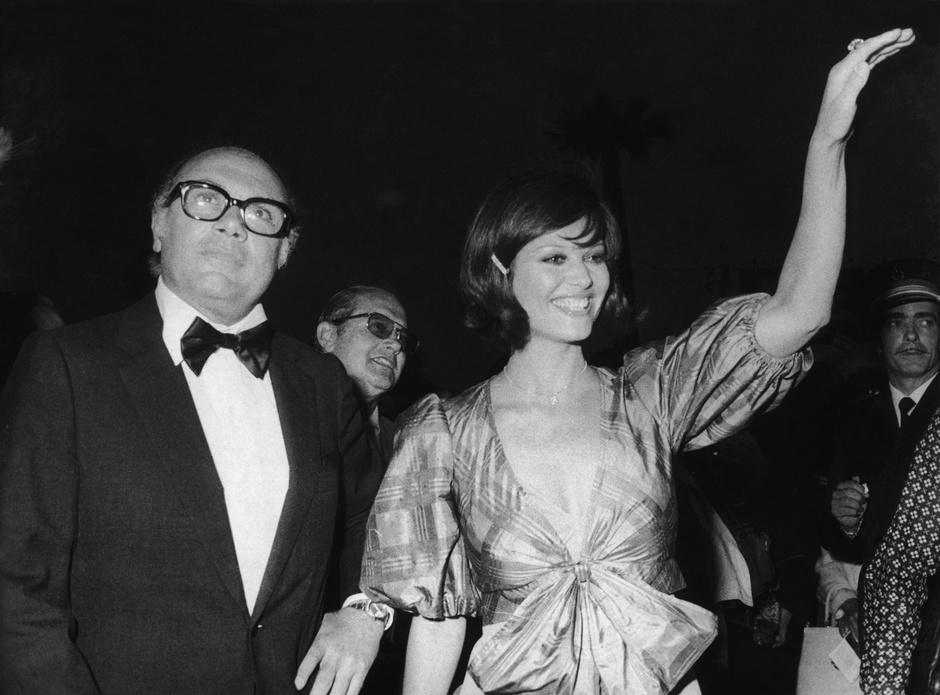 Франческо Рози и Клаудия Кардинале, 1962
