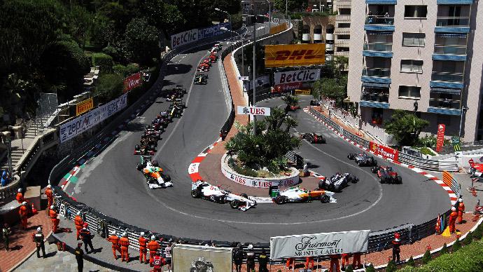 Вираж трассы «Формулы-1»