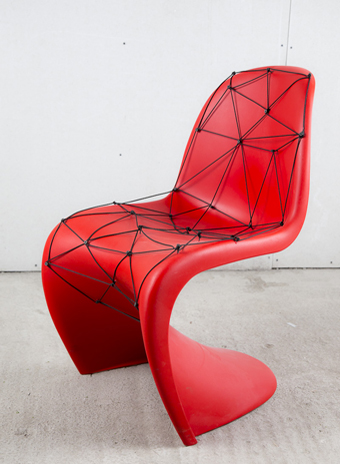 Vitra, выставака, Hommage супрематизму, дизайн, Panton Chair