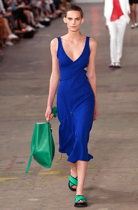 Показ Boss Women на Неделе моды в Нью-Йорке
