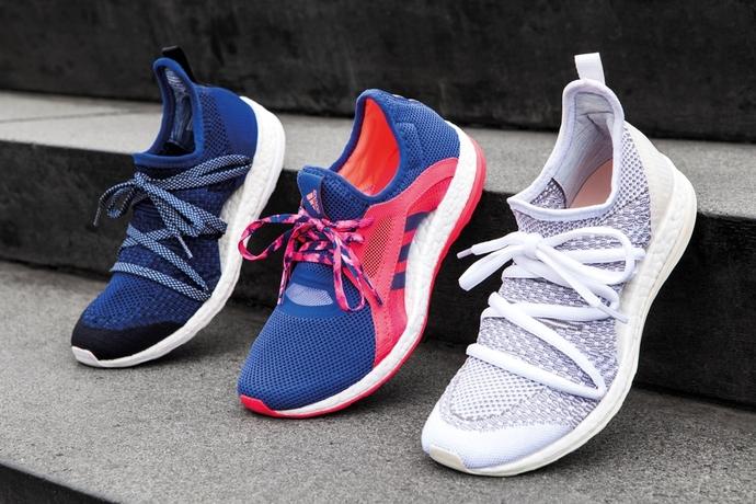 adidas представляет новые беговые кроссовки PureBOOST X