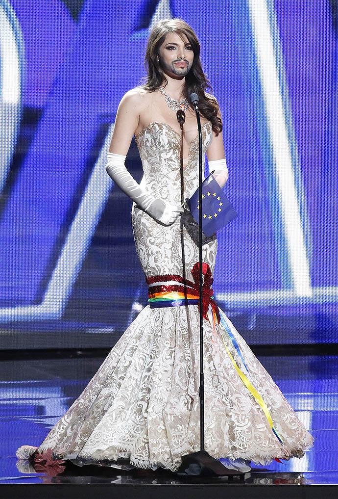 Амина Даги на Мисс Вселенная 2015