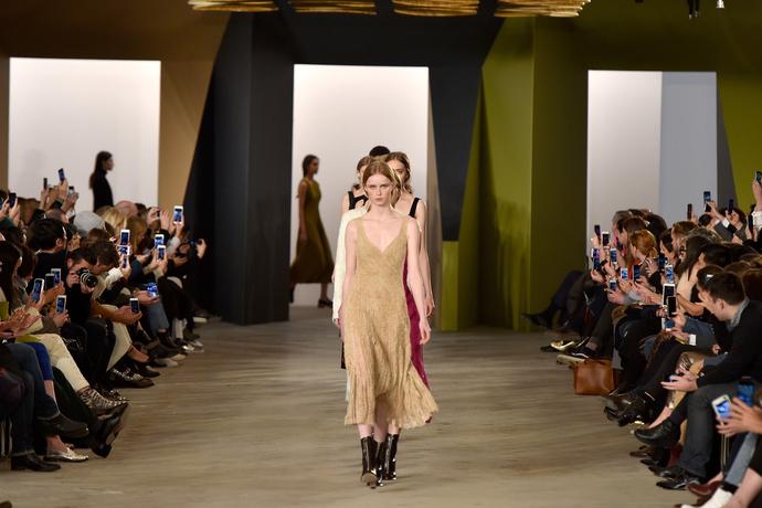 Показ Boss на Неделе моды в Нью-Йорке