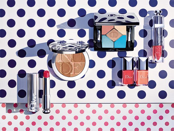 Dior представил летнюю коллекцию макияжа Milky Dots