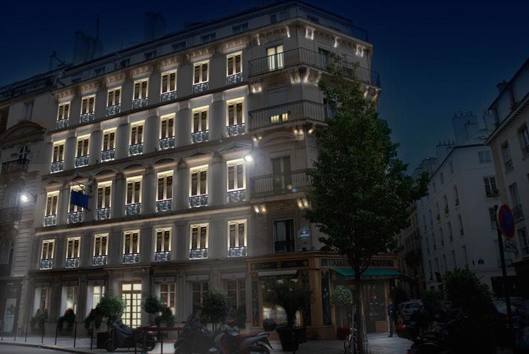 Отель Pavillon Des Lettres в Париже фото 4