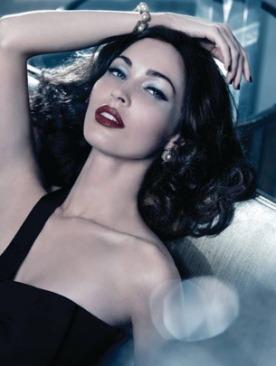 Меган Фокс в рекламе Armani Beauty