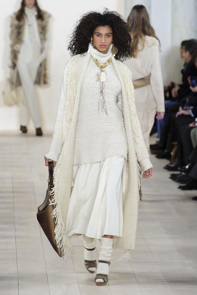 Показ Ralph Lauren на Неделе моды в Нью-Йорке | галерея [1] фото [23]