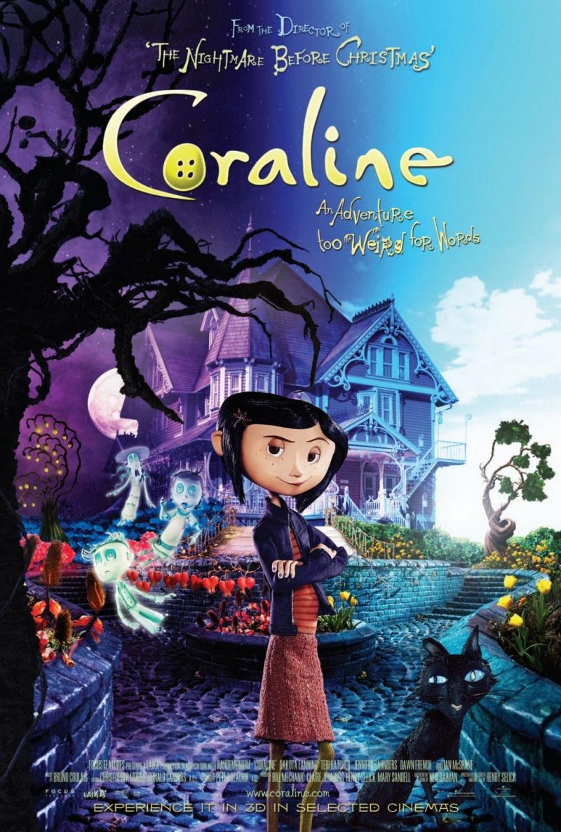 №8. «Коралина в Стране кошмаров» (Coraline), 2009