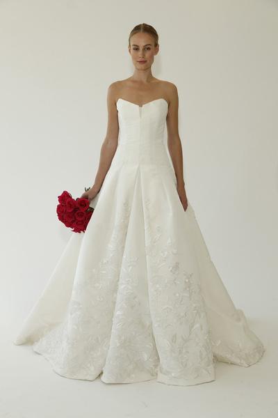 Oscar de la Renta представил новую свадебную коллекцию