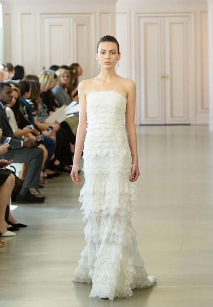 Дом Oscar de la Renta представил новую свадебную коллекцию | галерея [1] фото [6]