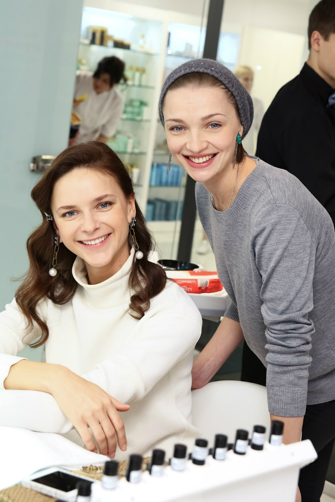 Ксения Князева и Екатерина Вилкова