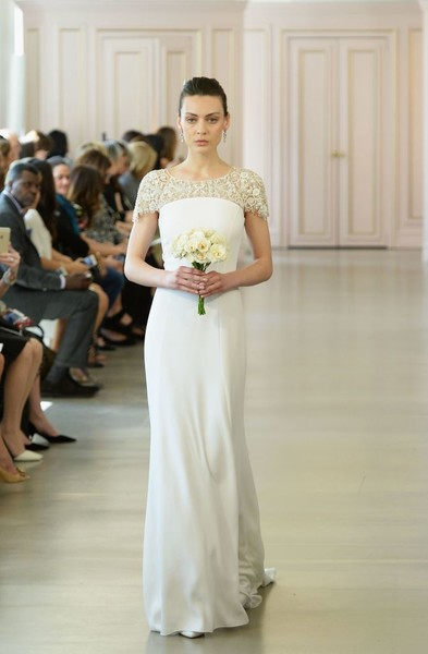 Дом Oscar de la Renta представил новую свадебную коллекцию | галерея [1] фото [20]