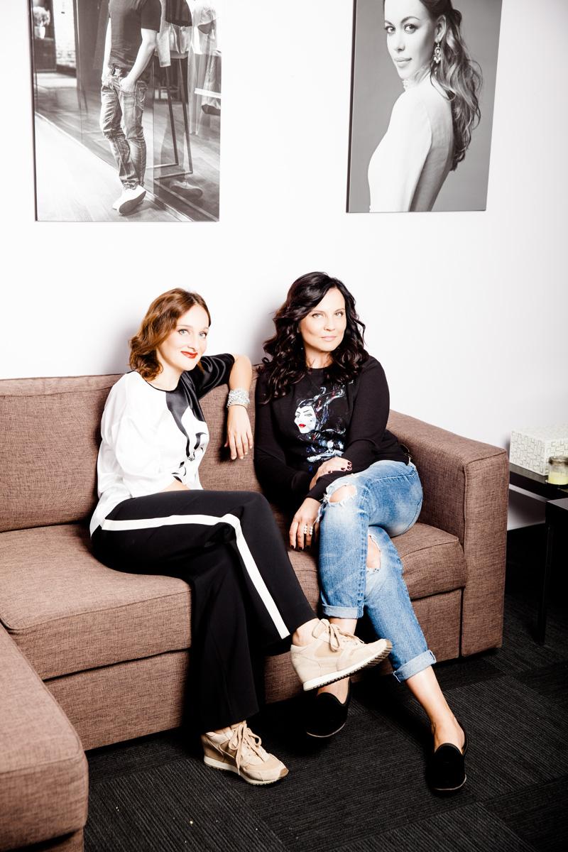 Мы с Лидой Александровой в шоу-руме DressOne